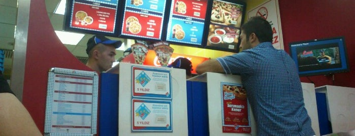 Domino's Pizza is one of Lugares favoritos de Gamze.