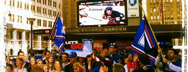 Madison Square Garden is one of Marvel Comics NYC Landmarks.