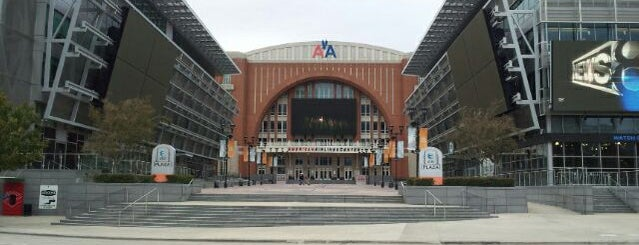 American Airlines Center is one of Stadiums for NHL.