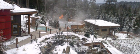 Scandinave Spa Whistler is one of Spas, retreats, and Vacas.
