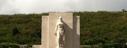 National Memorial Cemetery of the Pacific is one of Honolulu: The Big Pineapple #4sqCities.