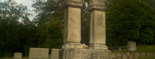 Decatur Cemetery is one of Atlanta History.