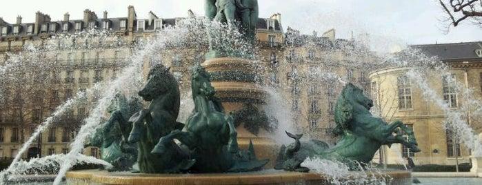 Jardín de Luxemburgo is one of World Sites.