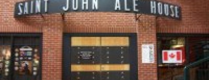 Saint John Ale House is one of Places in Saint John, NB.