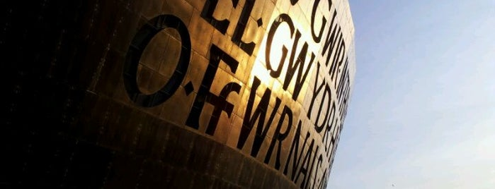 Wales Millennium Centre is one of Favorite places in the UK.