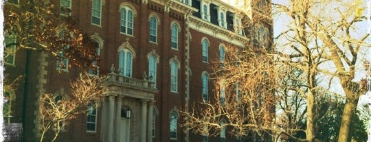 University of Arkansas is one of Increase your Fayetteville City iQ.