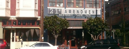21st Amendment Brewery & Restaurant is one of SF.
