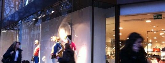 Zara is one of Tiendas de moda en Madrid.