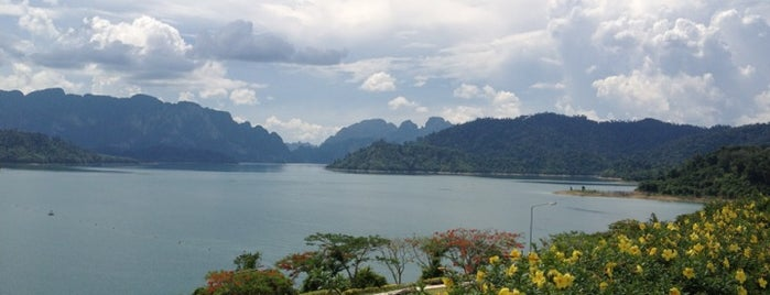 Ratchaprapa Dam is one of Suratthani.