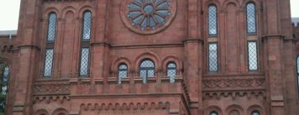 Smithsonian Institution Building (The Castle) is one of Washington DC Museums.