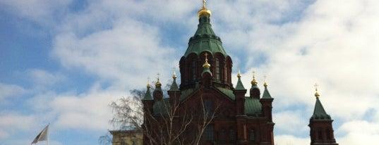 生神女就寝大聖堂 is one of Helsinki, Finland #4sqCities.