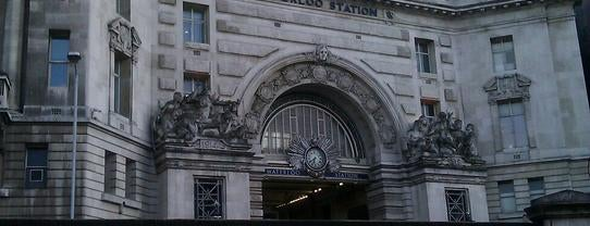 Estación De Londres Waterloo (WAT) is one of Railway stations visited.