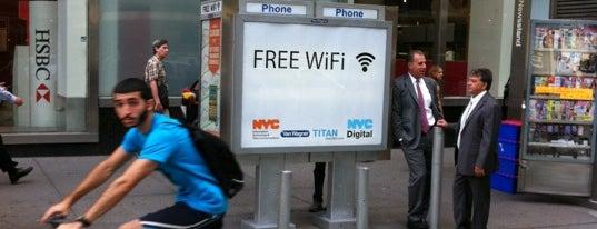 NYC Public Wifi Hotspot (Payphone Kiosk) is one of NYC #NEWYORK.
