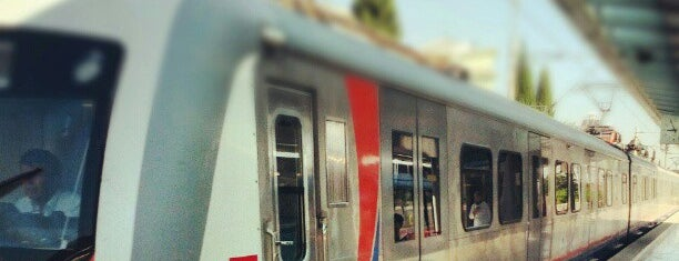 Gaziemir Tren / İzban İstasyonu is one of สถานที่ที่ Burak ถูกใจ.