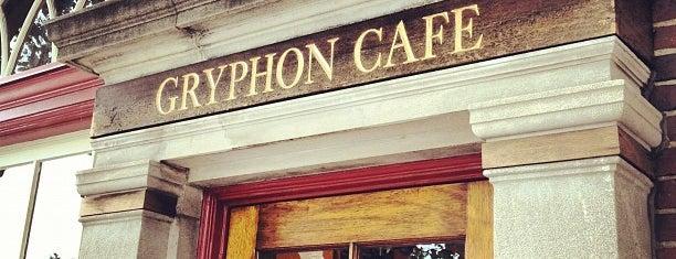 Gryphon Café is one of Philadelphia Coffee Shops.