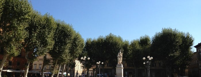 Piazza Napoleone is one of Lucca Bars, Cafes, Food, POI.