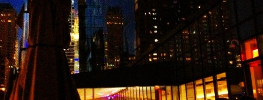 The Terrace at Yotel is one of Rooftop/Skyview Lounges in Manhattan.