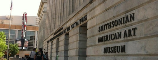 Smithsonian American Art Museum is one of A Not So Tourist Guide to DC.