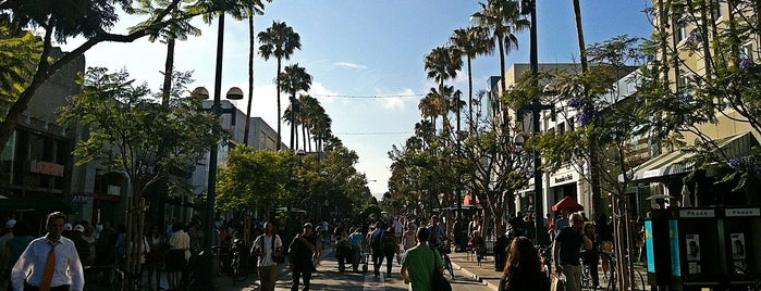 Third Street Promenade is one of Andy Grammer's Top Spots for Live Music.