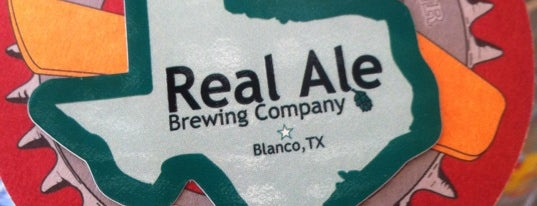 Real Ale Brewing Company is one of The Austin Breweries.