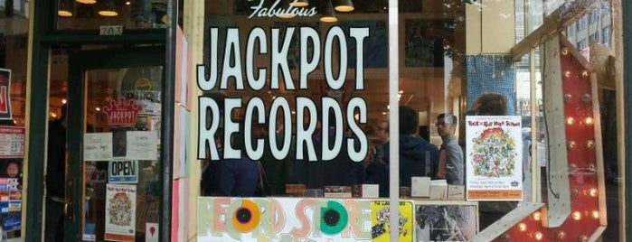 Jackpot Records is one of Portland.
