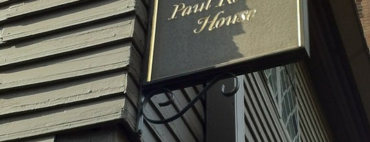 Paul Revere House is one of Boston, MA.