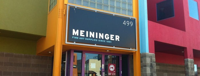 Meininger Art Supply is one of Freaker USA Stores Mountains.