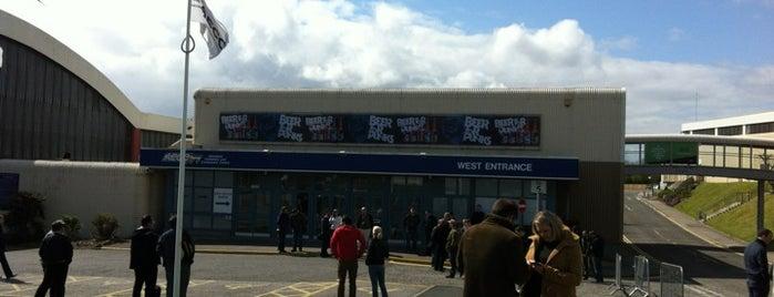 Aberdeen Exhibition and Conference Centre (AECC) is one of Lugares favoritos de Del.