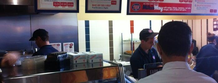Jersey Mike's Subs is one of สถานที่ที่บันทึกไว้ของ Mark.