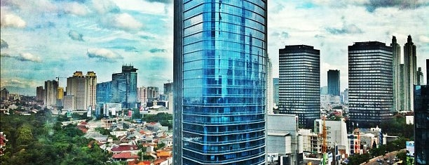 Menara BCA is one of Grand Indonesia Shopping Town.
