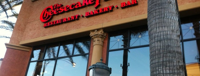 The Cheesecake Factory is one of Meals.