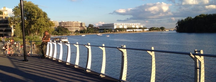 Georgetown Waterfront Park is one of DC must visit.