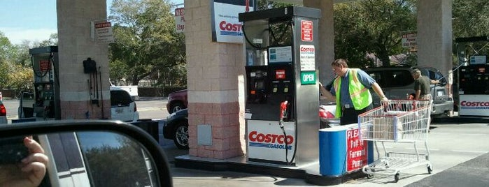Costco Gasoline is one of Shopping in St Pete and Clearwater.