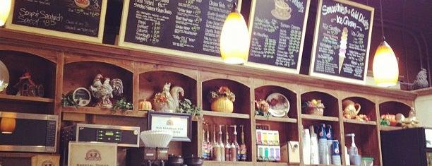 Cafe Carmel is one of Lieux sauvegardés par Kim.