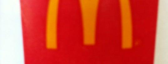 McDonald's is one of Cinci Work Food.