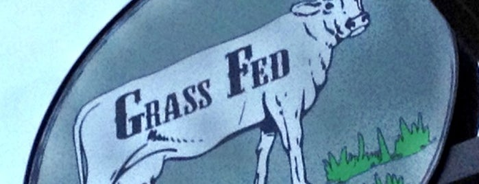 Grass Fed is one of bean town baby.