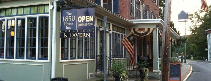 The 1850 House Inn & Tavern is one of Chelsa'nın Beğendiği Mekanlar.