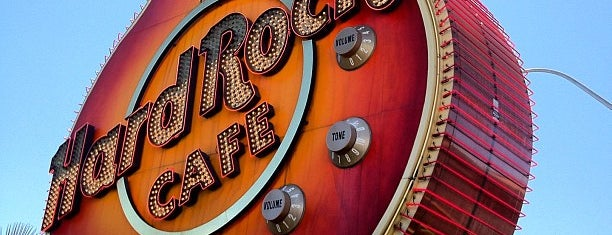 Hard Rock Cafe Las Vegas at Hard Rock Hotel is one of Vegas Places with Check-In Deals.