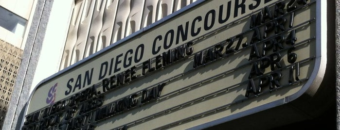 San Diego Concourse is one of Tempat yang Disukai Dave.