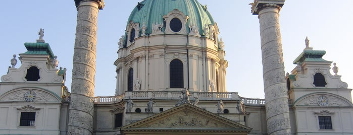 Karlskirche is one of Vienna Highlights #4sqCities.