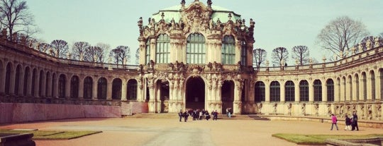 Zwinger de Dresde is one of wonders of the world.