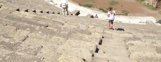 Ostia Antica is one of World Heritage Sites List.