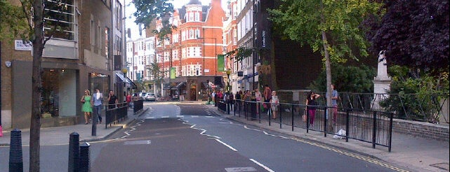 Marylebone High Street is one of London.