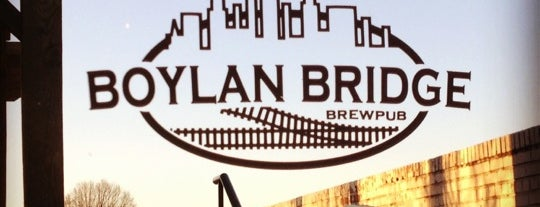 Boylan Bridge Brewpub is one of Favorites.