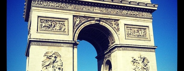 Arco di Trionfo is one of Paris.