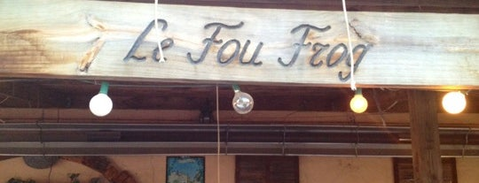 Le Fou Frog is one of Restos.