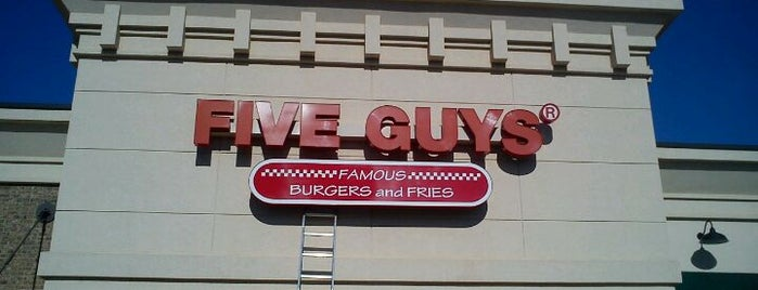 Five Guys is one of Guide to best spots in Acworth & West Cobb.