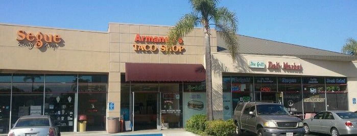 Armando's Taco Shop is one of San Diego: Taco Shops & Mexican Food.