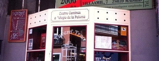 Tavern-Tran is one of Cafeterías de Madrid.