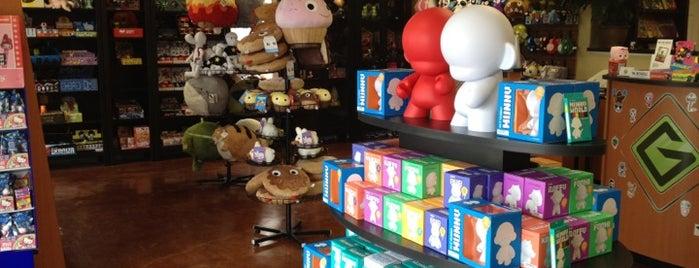 Guzu Gallery is one of The Austin Geek Trail.